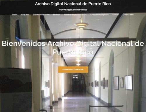 Archivo Digital Nacional de Puerto Rico
