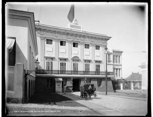 Palacio de Santa Catalina (La Fortaleza) circa 1901
