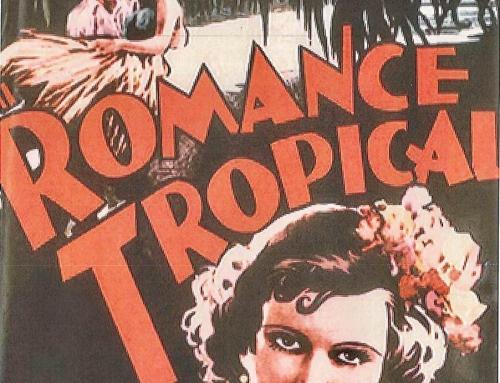 """El ICP anunció hoy que encontró """"Romance Tropical"""", la primera película sonora puertorriqueña"""