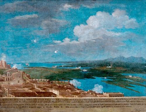 Conferencia sobre la pintura de José Campeche: Ex-voto del Ataque Británico a San Juan en 1797