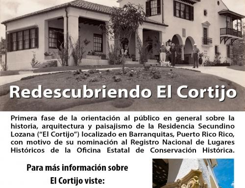 Redescubriendo El Cortijo en Barranquitas