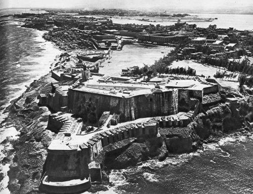Artículo sobre El Castillo San Felipe del Morro, publicado en 1953 en la revista Mundo Hispánico