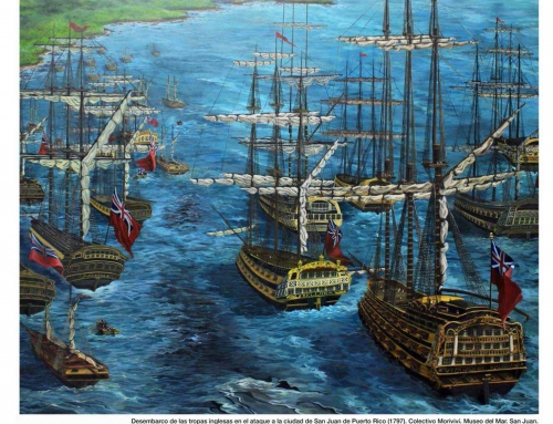 Asedio de San Juan por los ingleses 1797