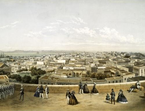 Panorama de San Juan de Puerto Rico circa 1860
