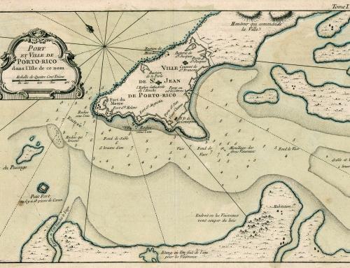 Carta náutica de San Juan de Puerto Rico (1764)