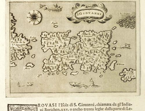 Descrittione dell'isola di S. Giovanni detta Borichen (1576)