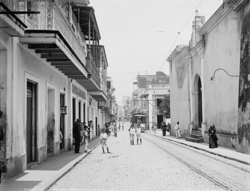 Calle de San Francisco, San Juan, P.R. (entre 1900 y 1906)