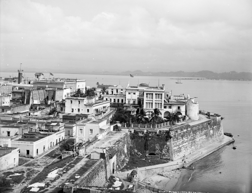 Governor's Palace and sea wall, San Juan, P.R. (1903)