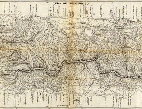 Datos históricos acerca del estudio de la geografía de Puerto Rico (1928)