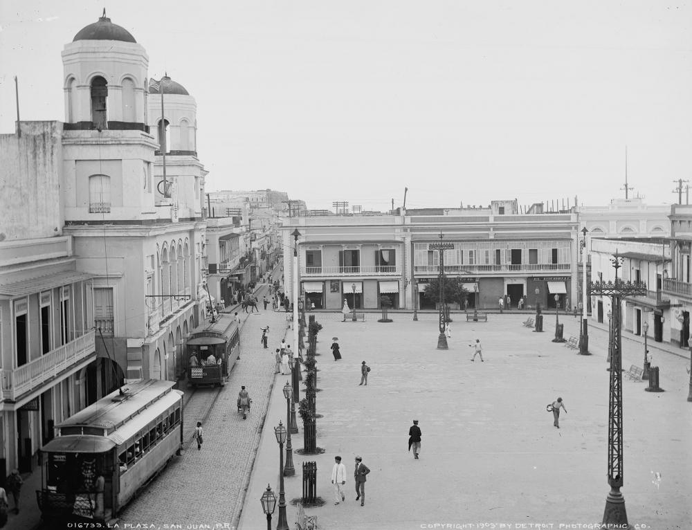 La Plaza, San Juan P.R. (1903)