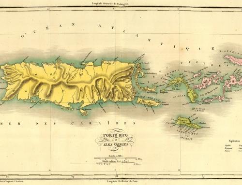 Carte geographique, statistique et historique de Porto-Rico (1825)