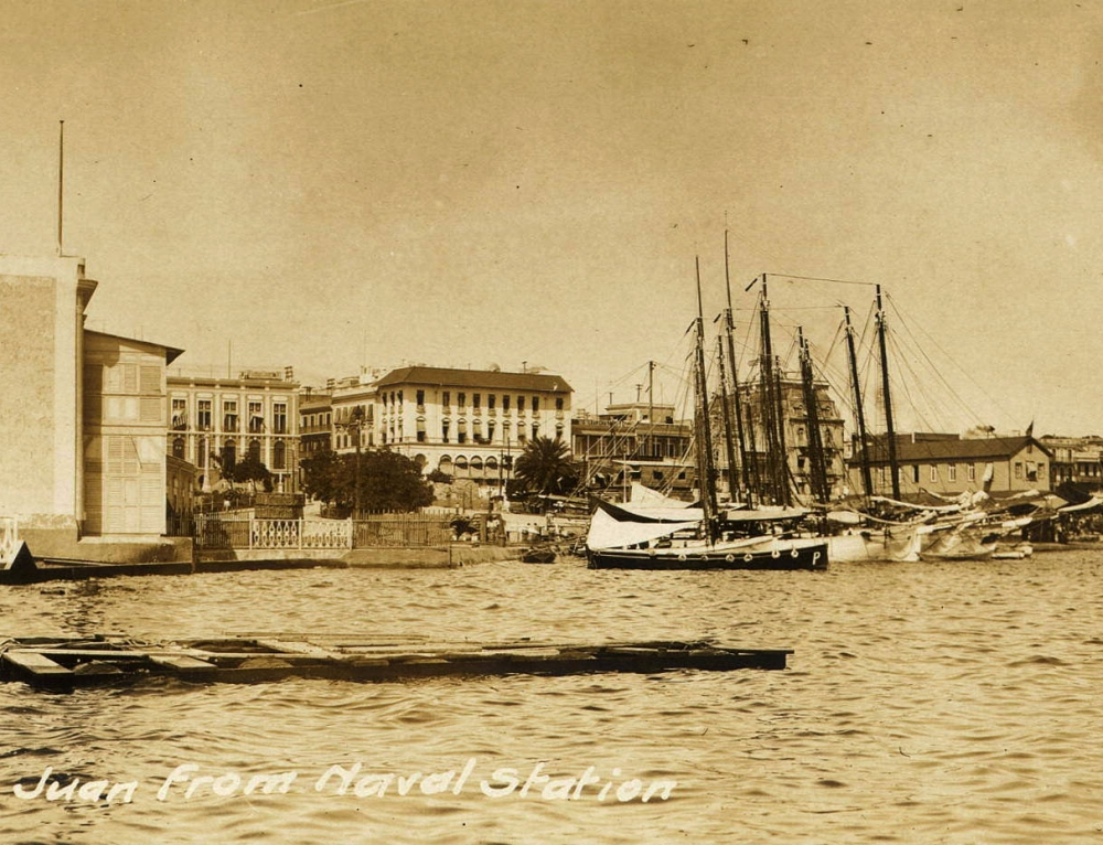San Juan from Naval Station (entre 1898 y 1917)