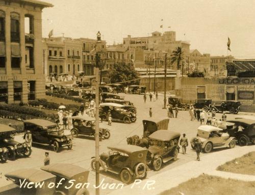 View of San Juan P.R. (circa 1917)