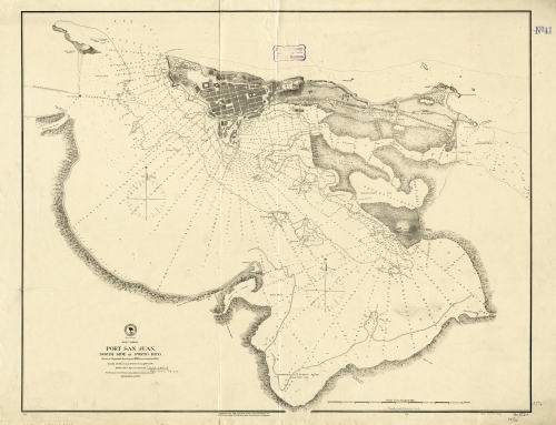 West Indies, Port San Juan, north side of Porto Rico (1874)