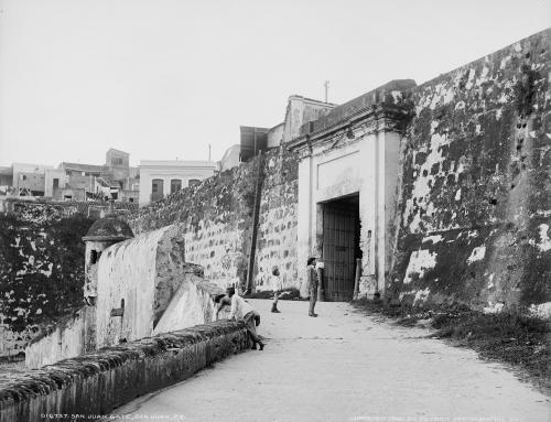 San Juan gate, San Juan, P.R. (1903)