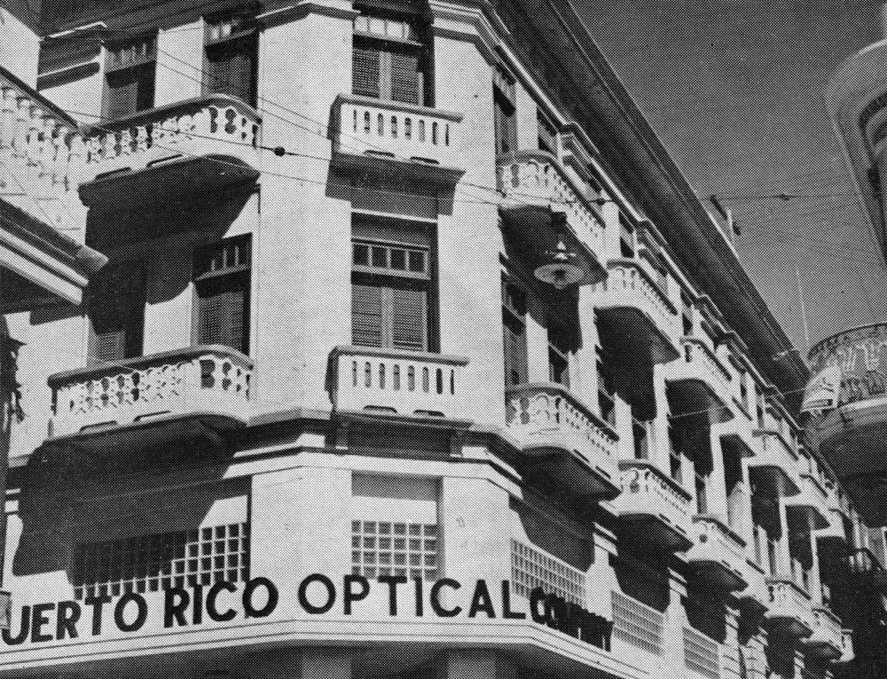 Puerto Rico Optical Company, Viejo San Juan (1950)