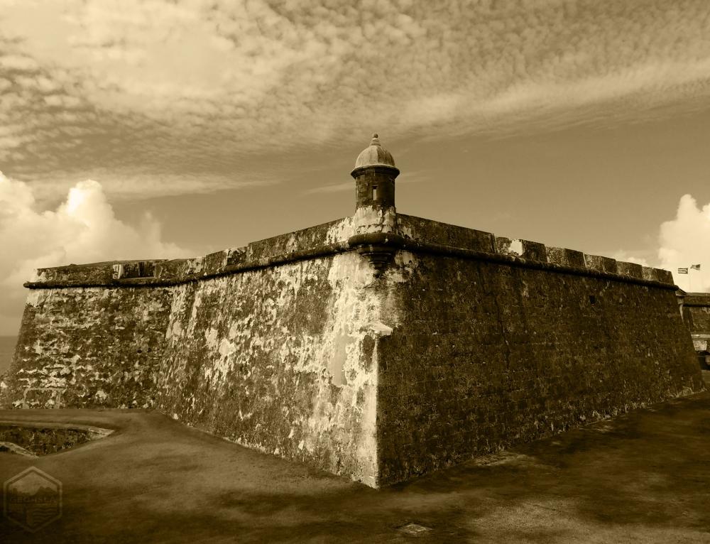 Bastión de Austria en el Viejo San Juan (2016)