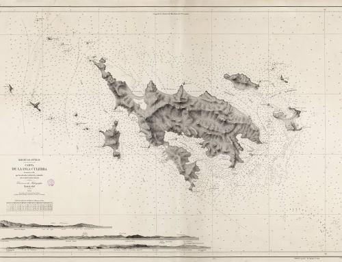 Carta náutica de la Isla de Culebra (1878)