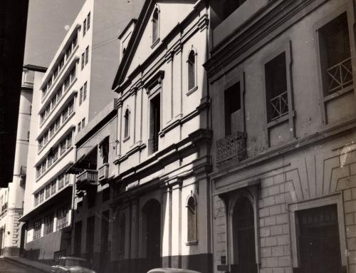 Capilla de Santa Ana en el Viejo San Juan (c. 1955)