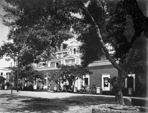 Antigua Cárcel La Princesa en el Viejo San Juan (entre 1898 y 1917)