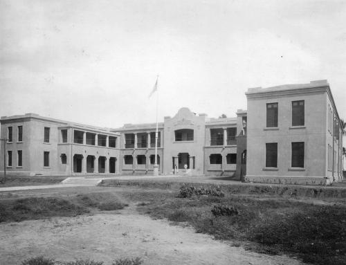 Escuela Thomas Jefferson en Arecibo (entre 1898 y 1917)