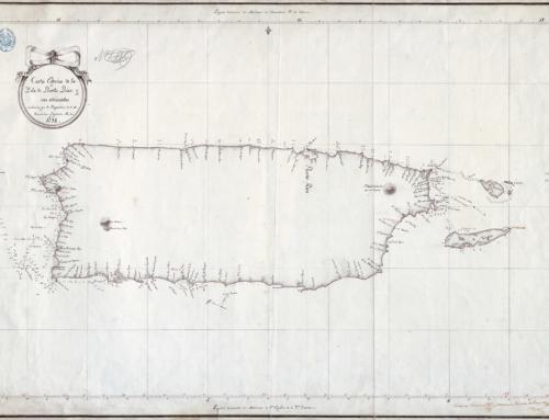 Carta Esférica de la Isla de Puerto Rico y sus adyacentes (1794)