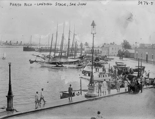 Marina del Viejo San Juan (entre c. 1915 y c. 1920)