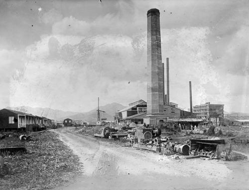 Central Machete en Guayama (entre 1910 y 1920)