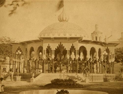 Kiosco en la Plaza de Ponce (c. 1884)