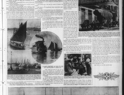 Reportaje sobre Attilio Moscioni en el periódico El Mundo (1937)