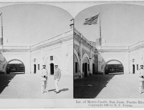 Interior del Morro (c. 1900)