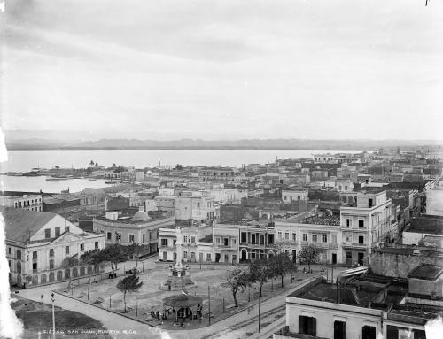 Vista panorámica de San Juan (c. 1904)