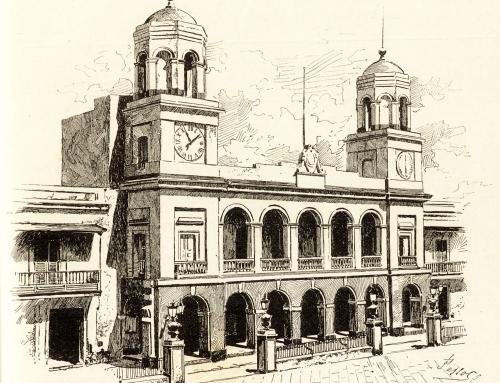 Dibujo de la Alcaldía de San Juan (1877)