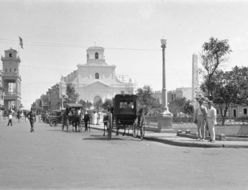 Plaza e iglesia de Arecibo (1922)