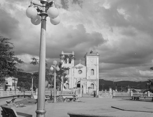 Plaza e iglesia de San Sebastián (1942)