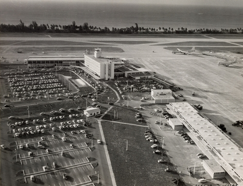 Aeropuerto Internacional de Isla Verde (c. 1957)
