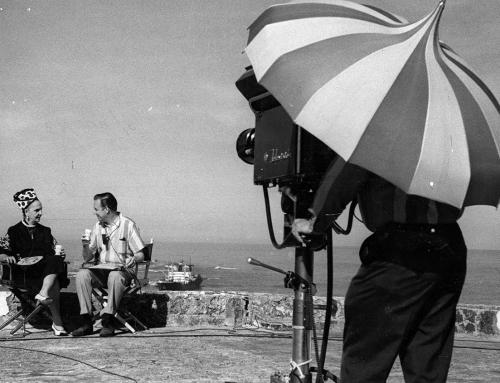 Doña Fela entrevistada por Hugh Downs de NBC (1963)