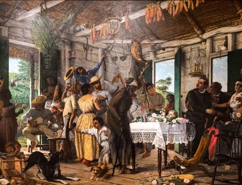 El Velorio – Francisco Oller (c. 1893)