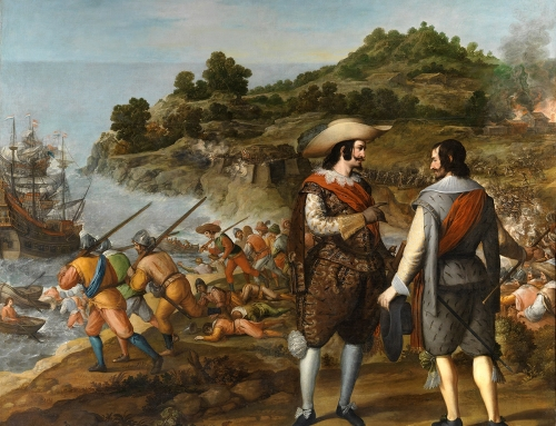 """""""La recuperación de San Juan de Puerto Rico"""" (1634-1635)"""