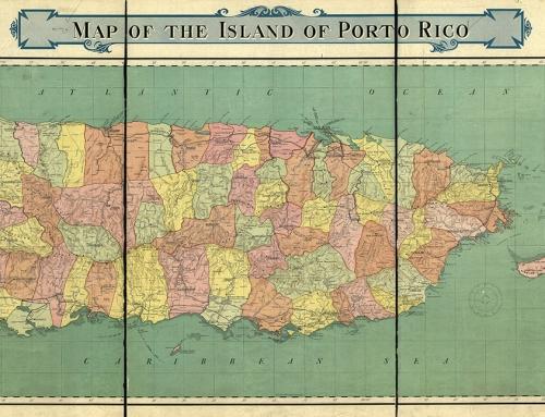Mapa de Puerto Rico (1915)