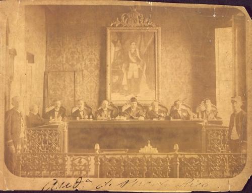 La Real Audiencia de Puerto Rico (entre 1874 y 1885)