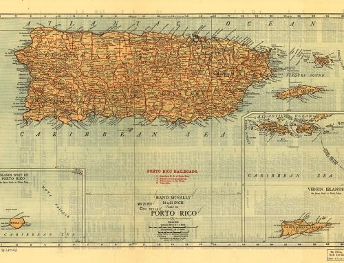 Mapa de Puerto Rico (1921)