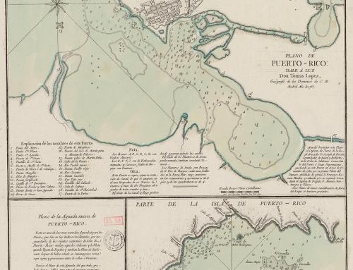 Plano de Puerto-Rico (1785)