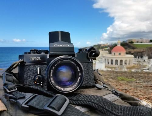 Documentando el Viejo San Juan con una cámara de película 35mm (2018)