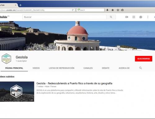 Nuevo canal de GeoIsla en YouTube