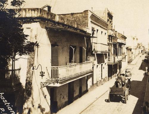 Calle de San Sebastián (entre 1907 y 1917)
