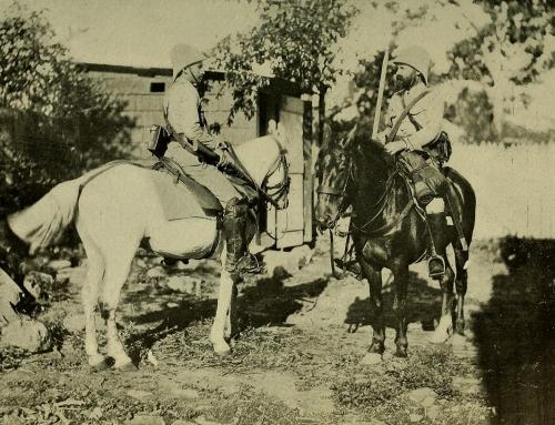 Guardia Civil española (c. 1898)