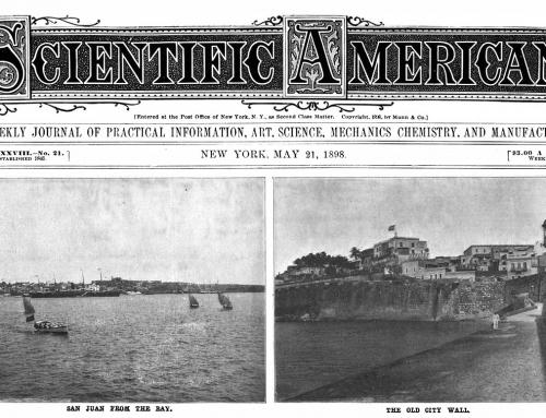 Artículo sobre el bombardeo a San Juan en Scientific American (1898)