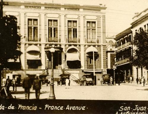 Avenida de Francia, Viejo San Juan (c. 1920)
