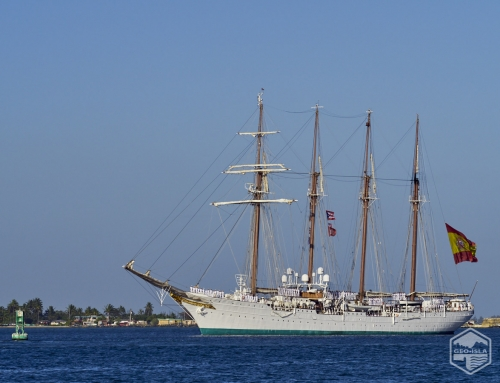 Llegada a Puerto Rico del buque Juan Sebastián Elcano (2019)